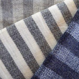 Neu: Schals aus Cashmere und Stolas aus einem Merino-Seidengemisch